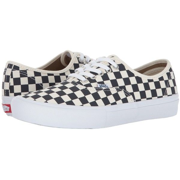 vans authentic pro checkerboard navy