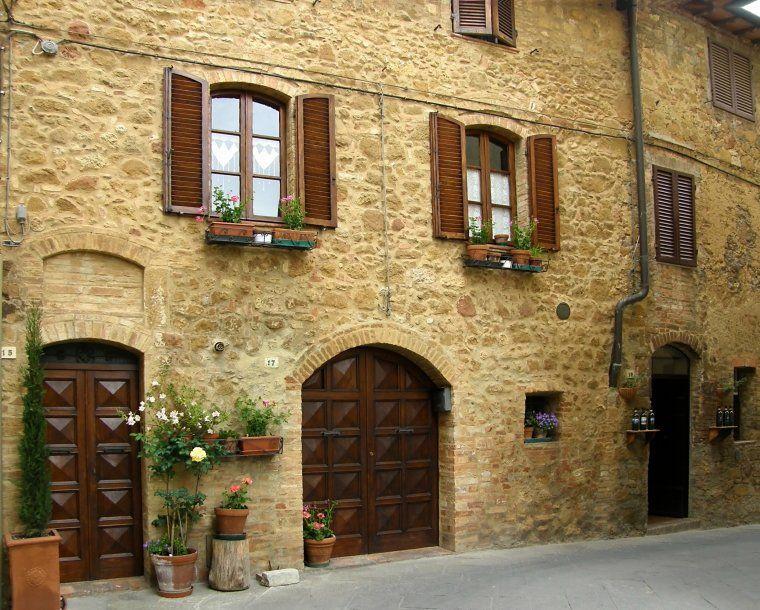Fachada casa en Pienza la Toscana Italia | Casa nueva | Pinterest ...