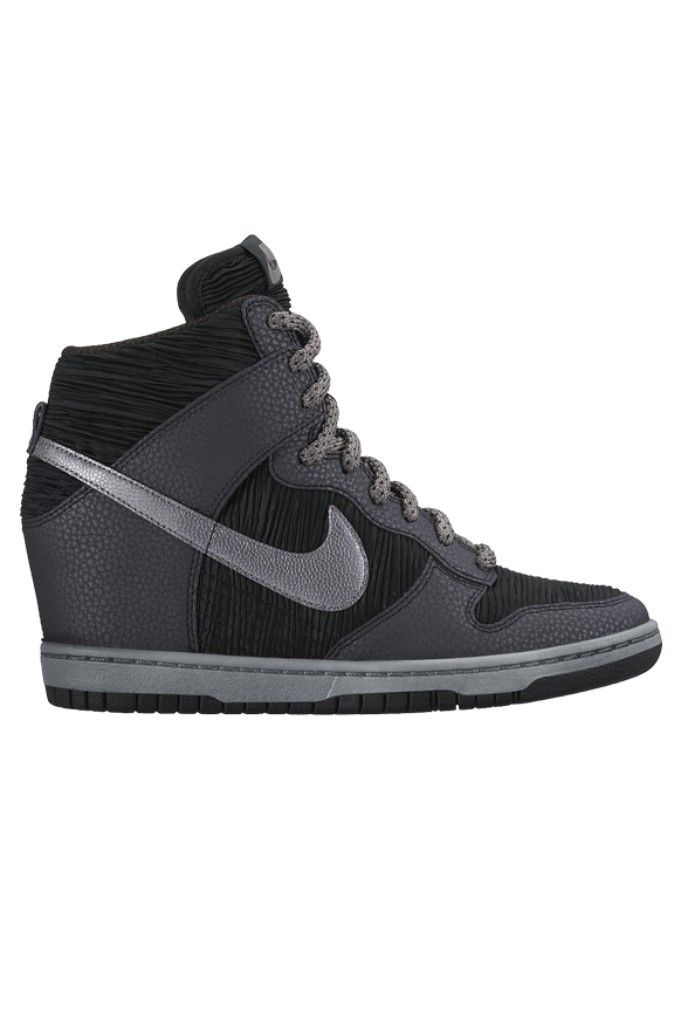new style c1927 ec158 Nike Dunk Sky Hi – Black   Metallic Hematite   Cool Grey