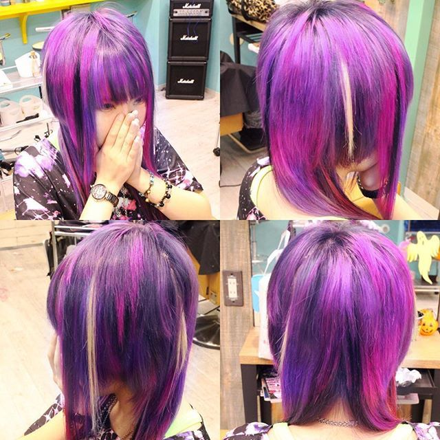 Websta Capsule Hilokichi Galaxy Color Haircolor Hairsalon