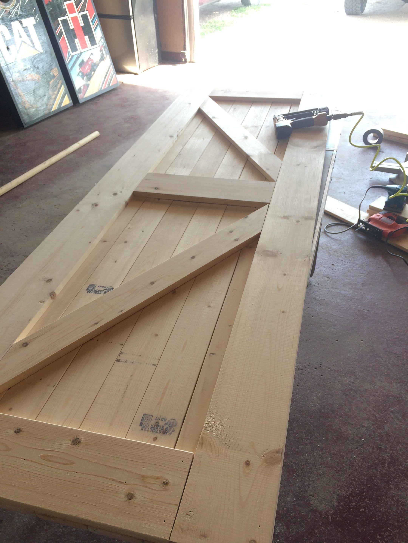 DIY Barn Door – Jenny Weg
