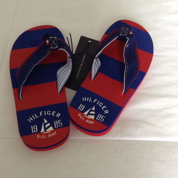NWT Tommy Hilfiger kids flip flops Kids brand new flip flops Tommy Hilfiger Shoes Sandals