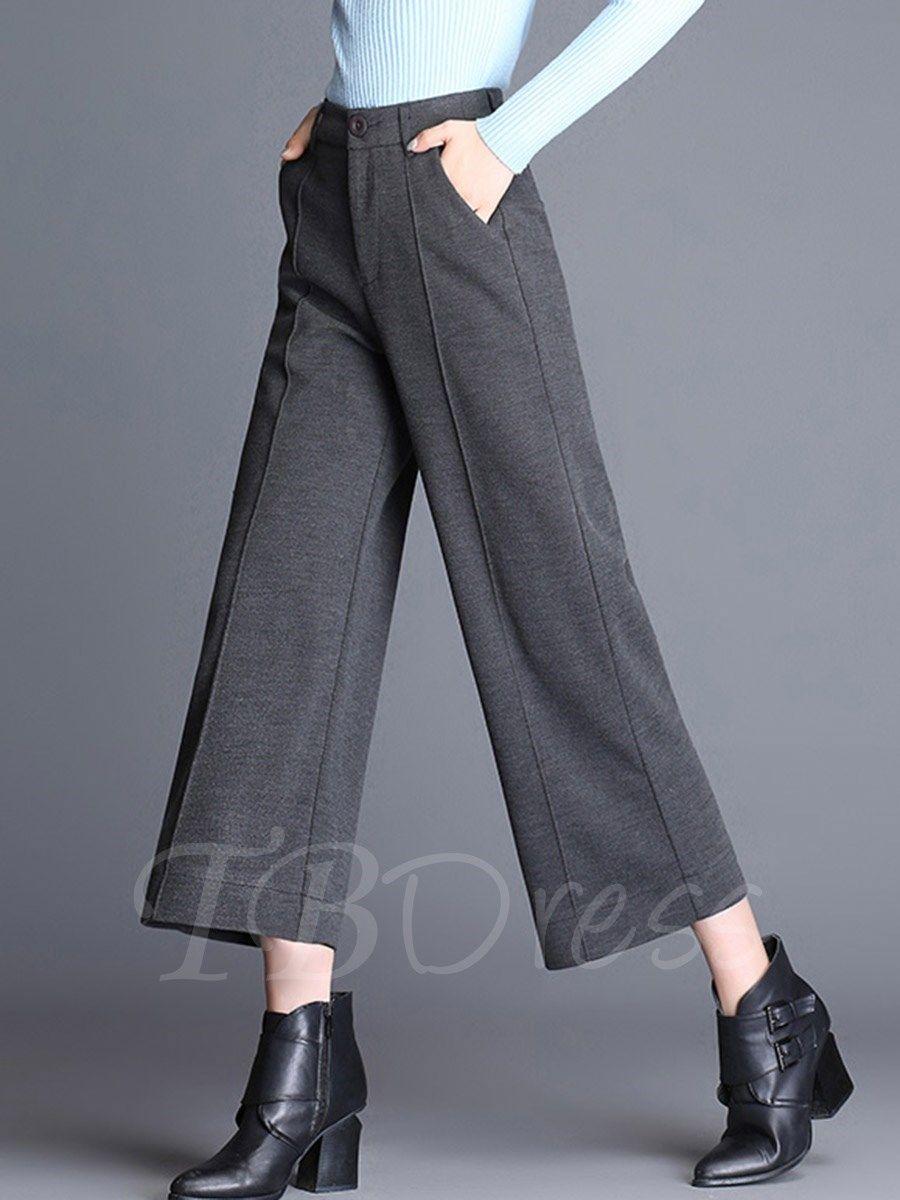 Pin On Pantalones Anchos A La Altura De Los Tobillos