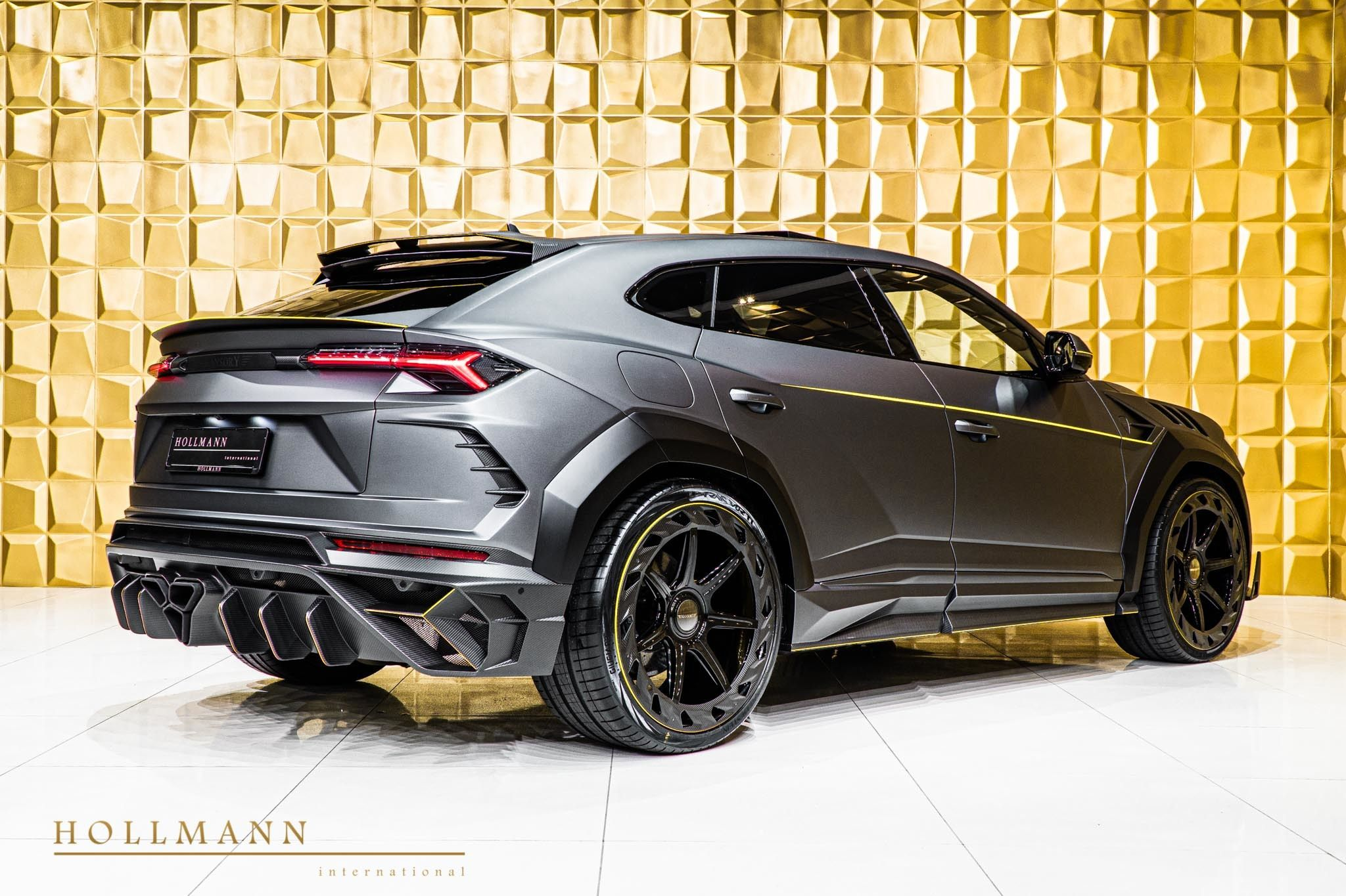 Lamborghini Urus By Mansory Hollmann International Germany For Sale On Luxurypulse In 2020 Luxury Suv Lamborghini Black Car