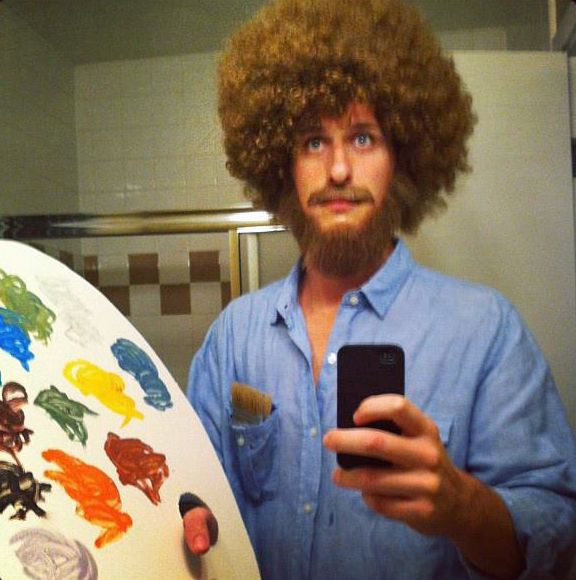 bob ross costume amazing halloween