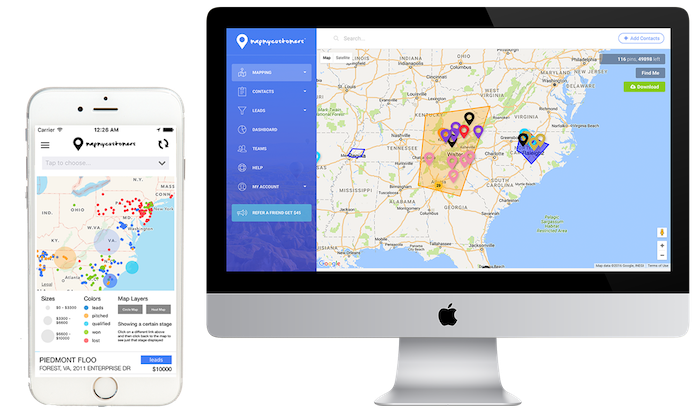 MapMyCustomers 3.0  An easy route planner for salespeople