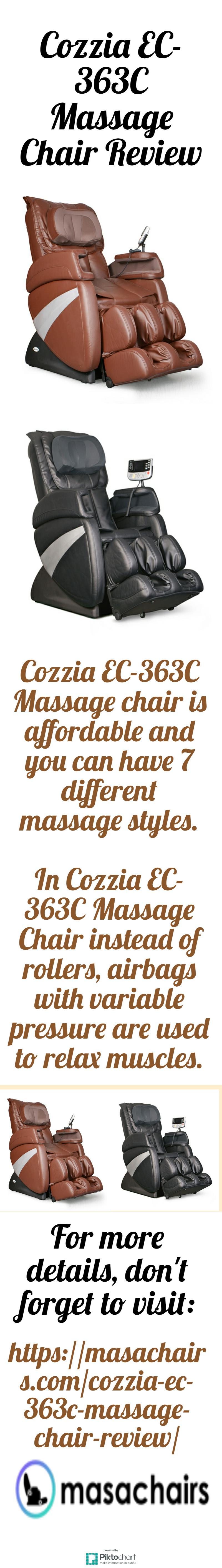 Pin On Cozzia Ec 363c Massage Chair Review