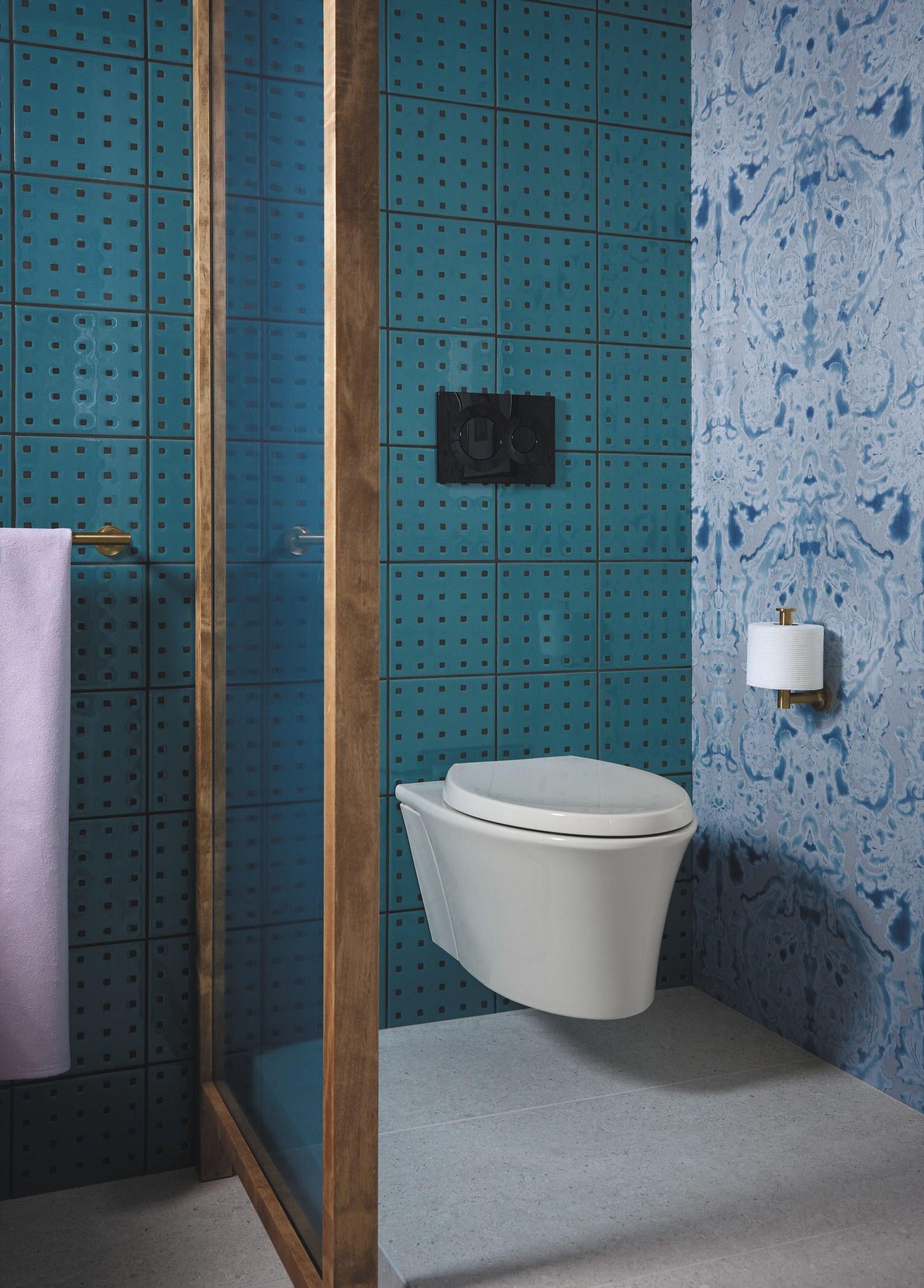 Hint of Havana Bathroom | Hint of Havana Bathroom | Pinterest | Wall ...