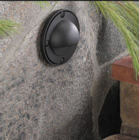Eyelid wall lights for the walls of raised planting beds or lighting steps - different finishes available