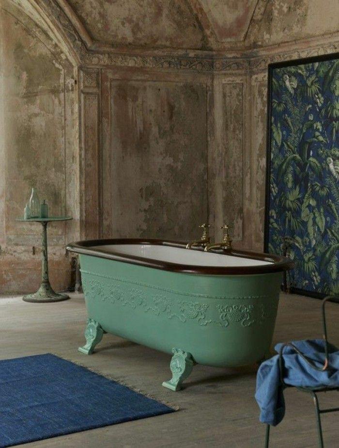 40 photos d\'intérieur de la baignoire ancienne! | Baignoire ...