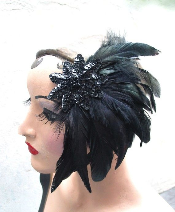 Black Star fascinator by batcakes......i own this one and it is fabulous!