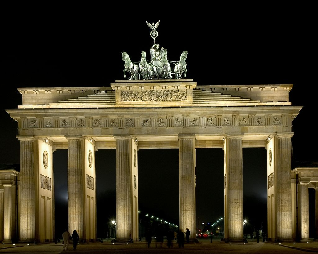 Das Brandenburger Tor Germany Brandenburg Gate Berlin