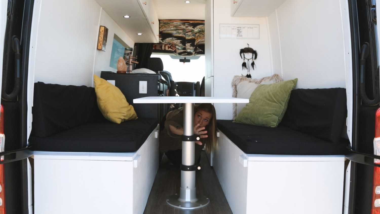 DIY Mercedes Sprinter Van Walk Through Video