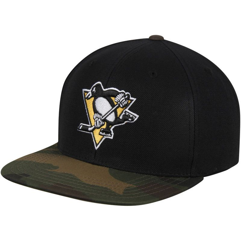 promo code 45613 cb6ad Pittsburgh Penguins American Needle Sundown Snapback Adjustable Hat – Black