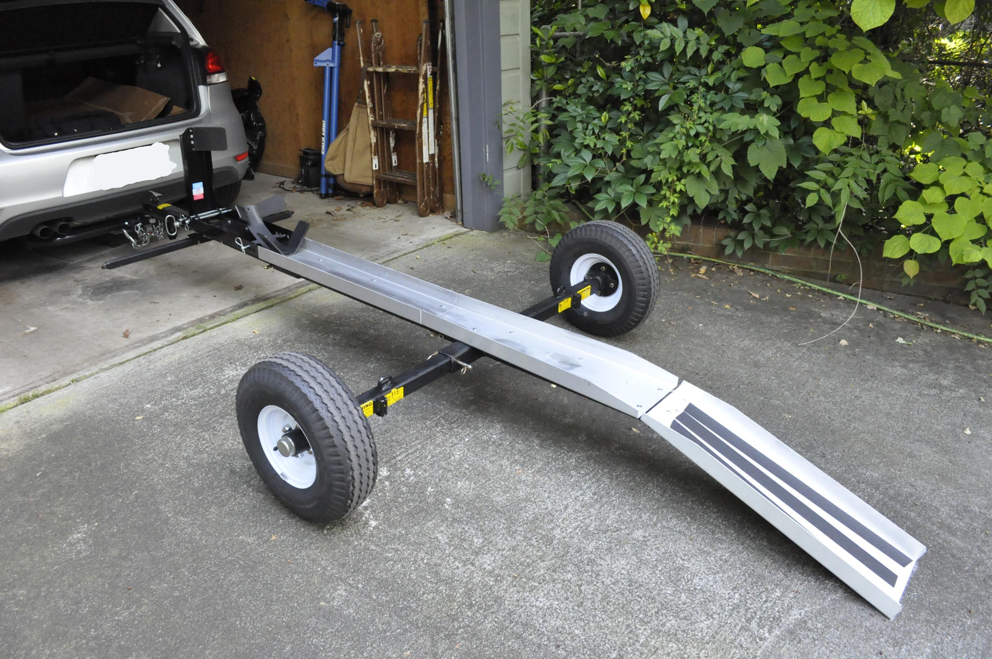 Build Single Motorcycle Trailer Google Search Motorcycle