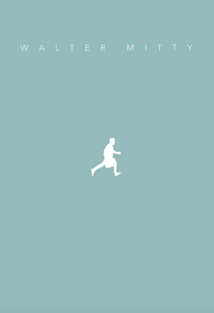 The Secret Life of Walter Mitty (2013) ~ Minimal Movie Poster by Ghiffari Haris #amusementphile