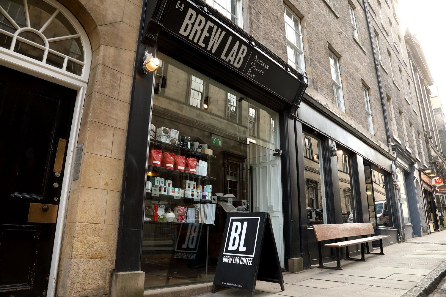 Brew Lab South College Street Old Town Edinburgh Speciality Coffee Speciality Coffee Shop Coffee Bar