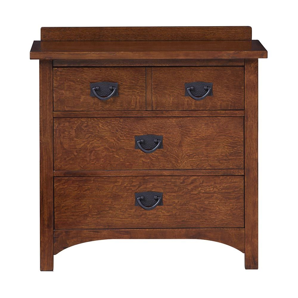 Mission style bedroom furniture - Grove Park Nightstand By Bassett Sale 599 Mission Craftsman
