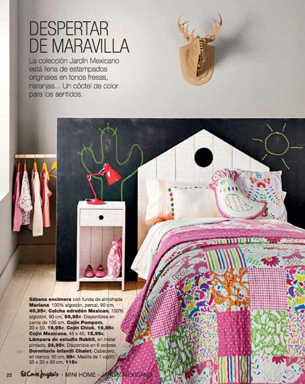 Decoraci n infantil mini home de el corte ingl s muebles for Muebles infantiles el corte ingles