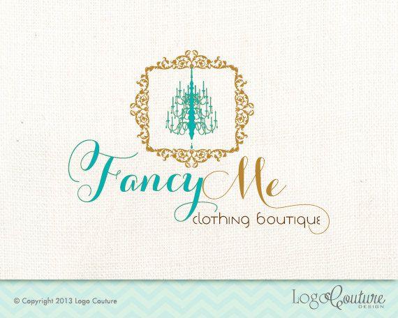 Premade Clothing Boutique Logo - Custom Logo - Fancy Me Clothing