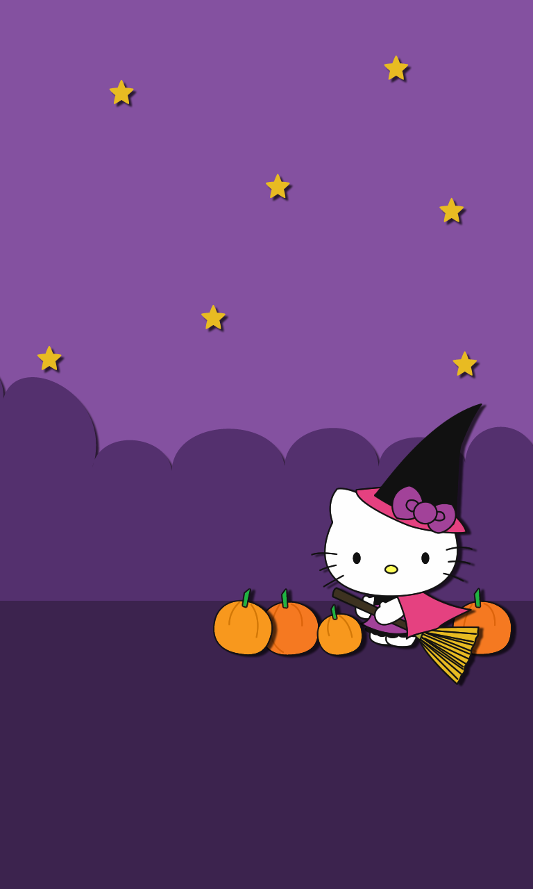 Hello Kitty Halloween Wallpapers &amp- Themes for Android - Cute ...