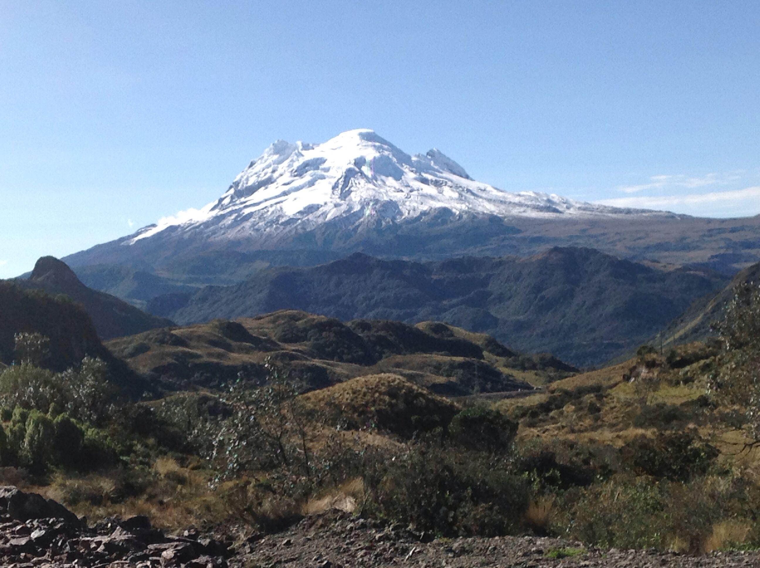 Volcán Antisana mi hermoso Ecuador