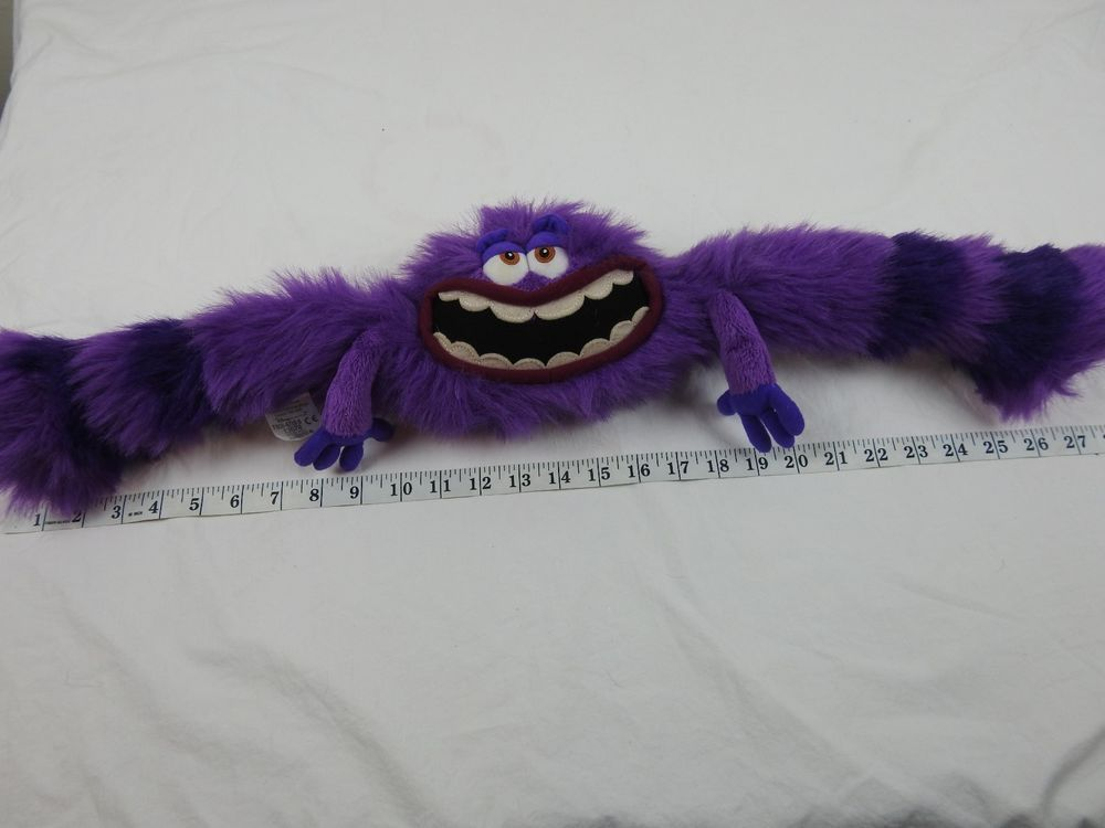 Disney Monsters University Art Plush Stuffed 12 Purple Monster Monsters Inc A Disney Disney Monsters University Art Monster University