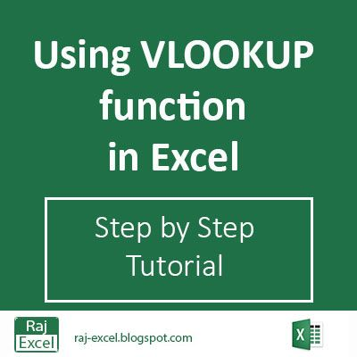 Using Vlookup function in excel step by step tutorial Computer