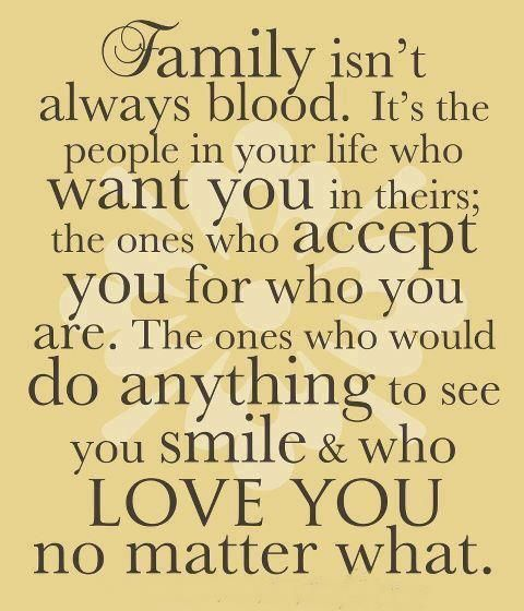 Another Word For Family Is Love