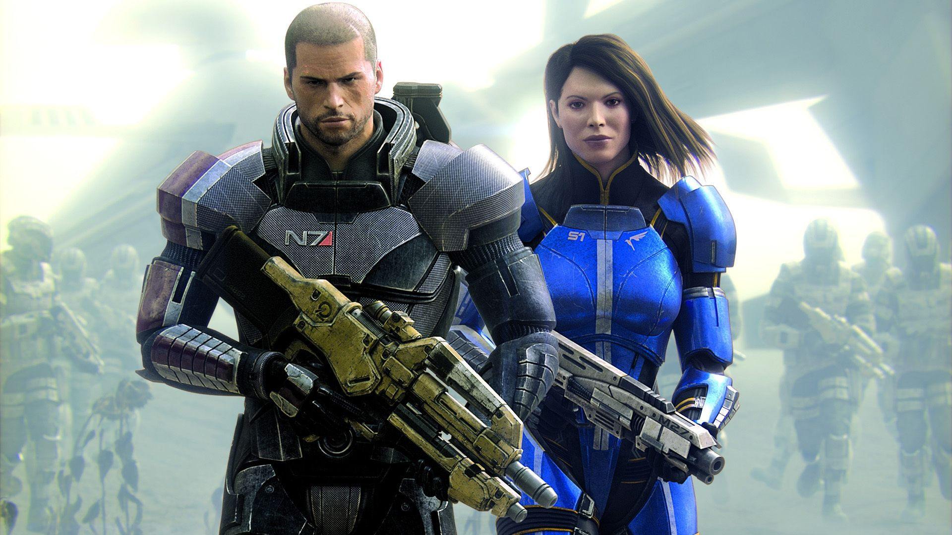 Video Game Mass Effect 3 Ashley Williams Commander Shepard Soldier