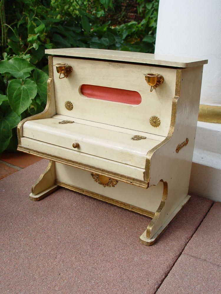 Altes Kinderklavier Mini Toy Piano Spielzeugklavier Xylophon