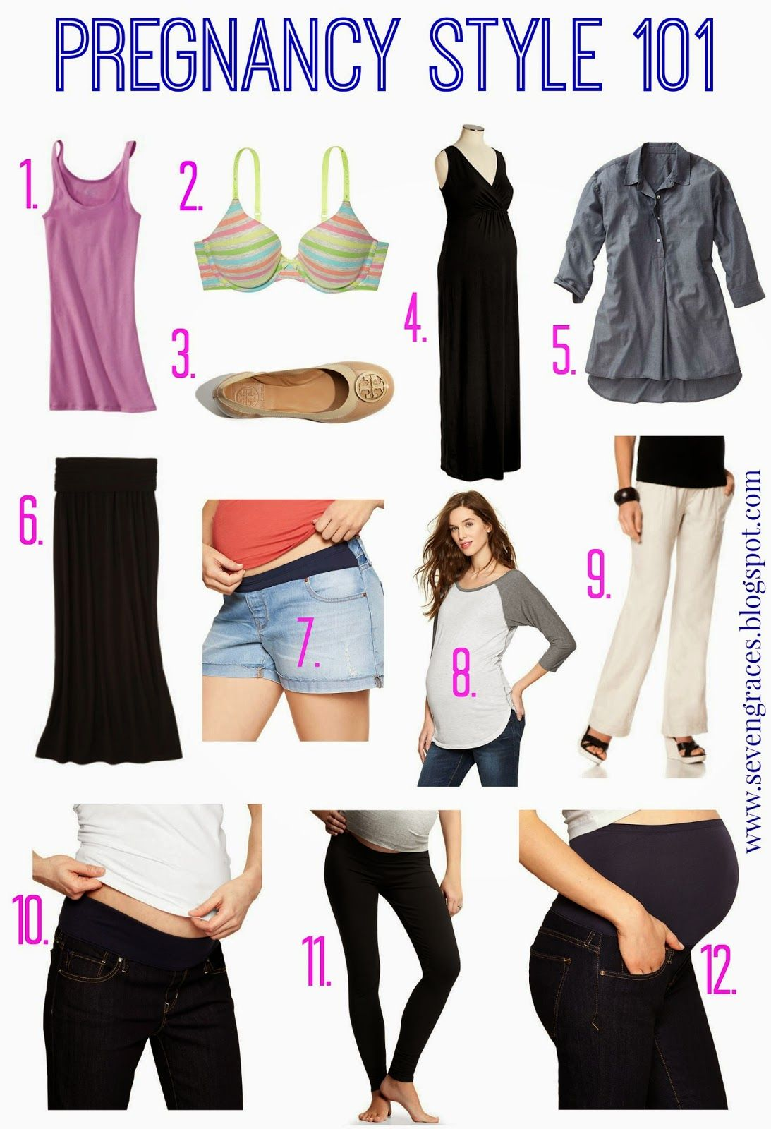 5bd47d1fce5 Pregnancy Style 101  Must-Have Maternity Clothing by Seven Graces   maternityfashion  maternity  pregnancy101  newmama101