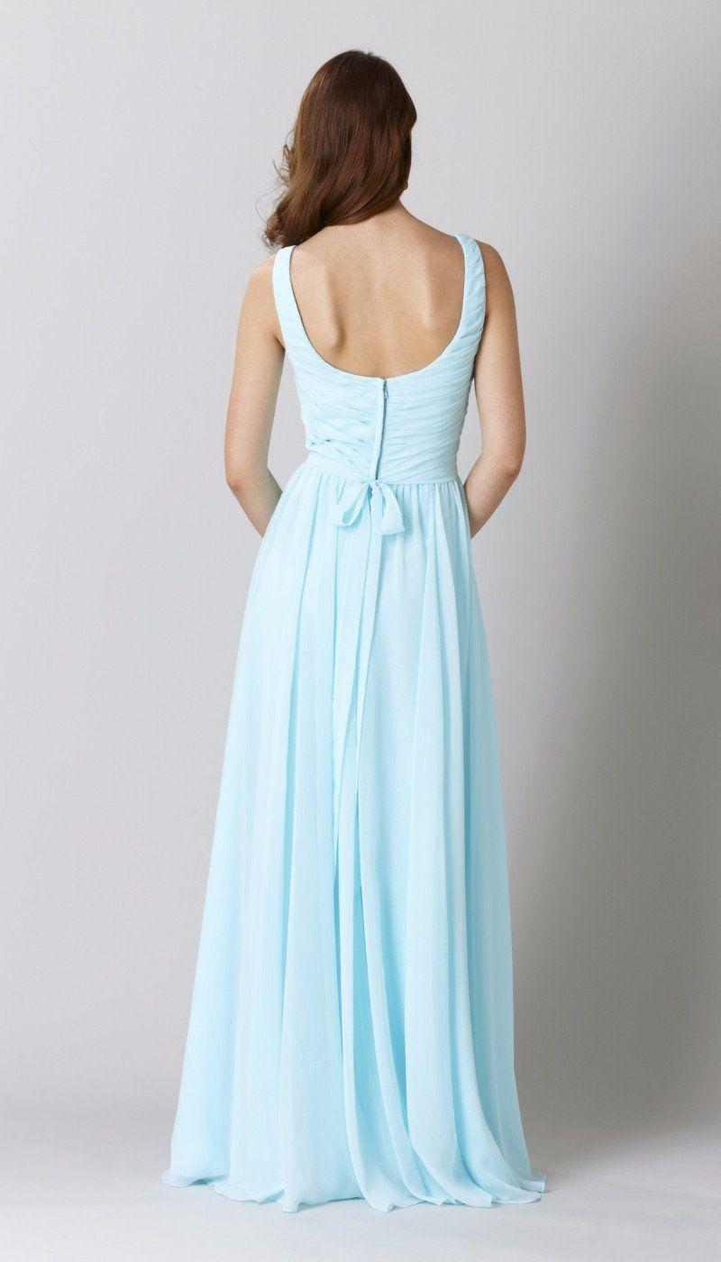 Sophia chiffon bridesmaid dresses and wedding