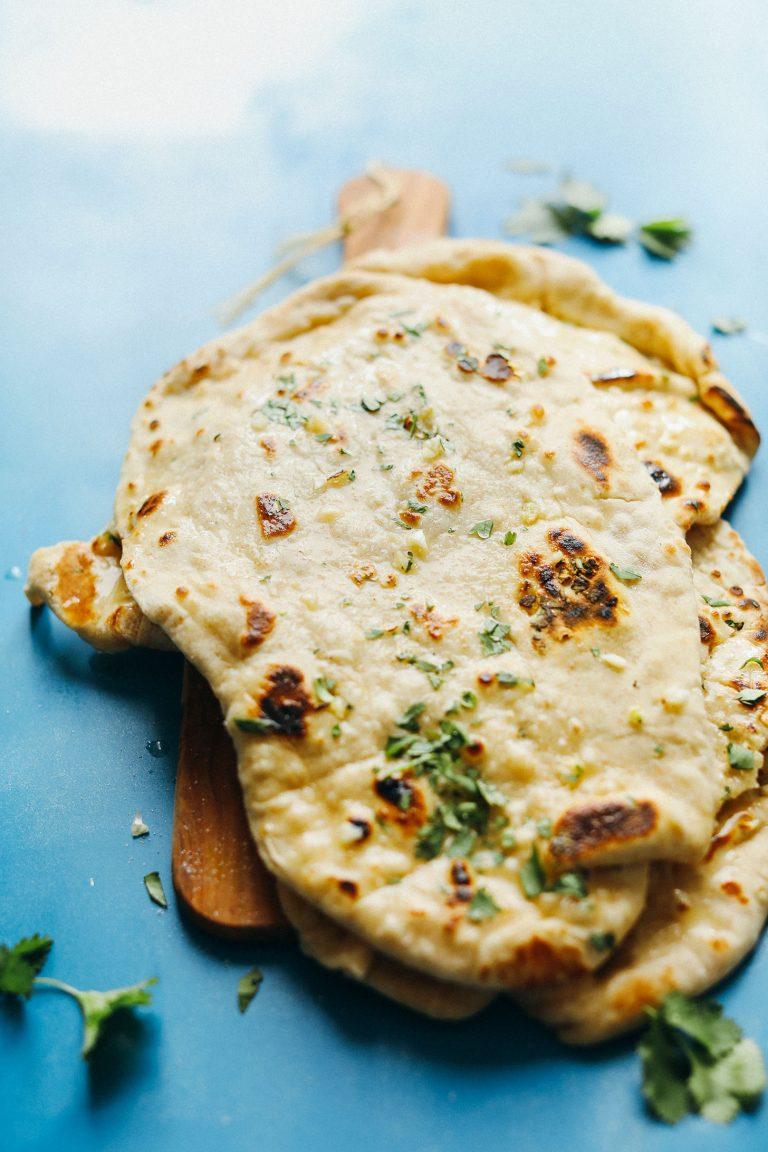 Easy Vegan Naan Recipe Food Recipes Vegan Naan Food