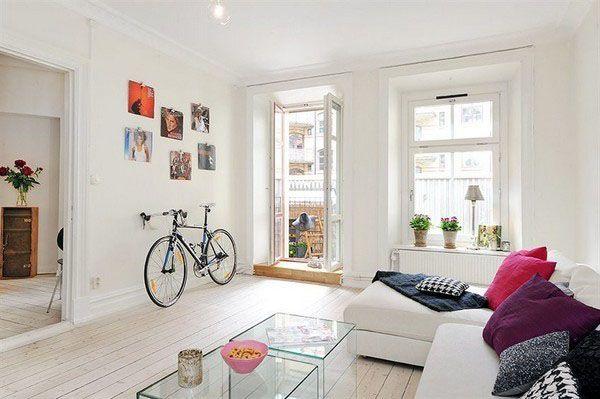 Indoor Bike Storage Ideas Modern Interior Decorating With A Bike Modern Interior Decor Interior Home Decor