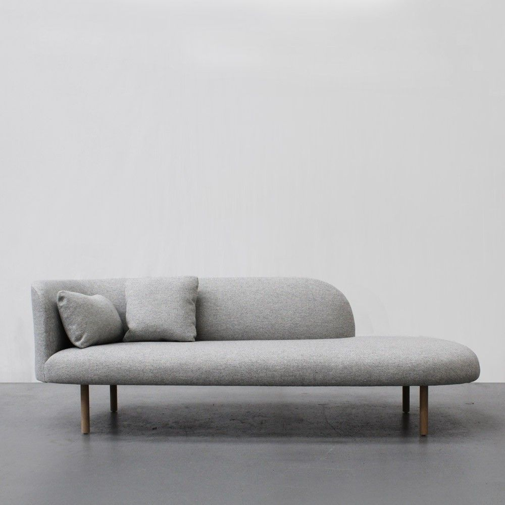 Continuous Chaise in 2019 | Couches | Chaise sofa, Sofa, Simple sofa