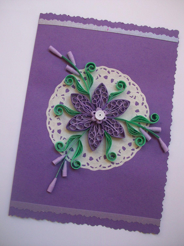 Birthday card quilling card quilling card quilled birthday card