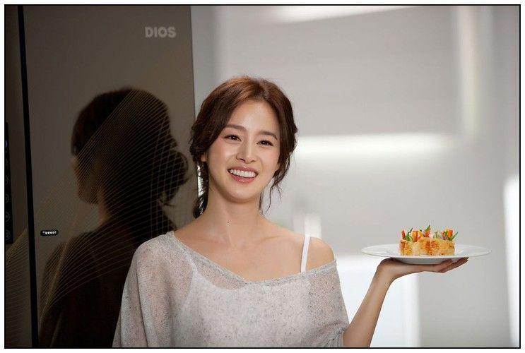 Kim Tae-Hee 김태희 LG 디오스 냉장고 광고 촬영(19P)
