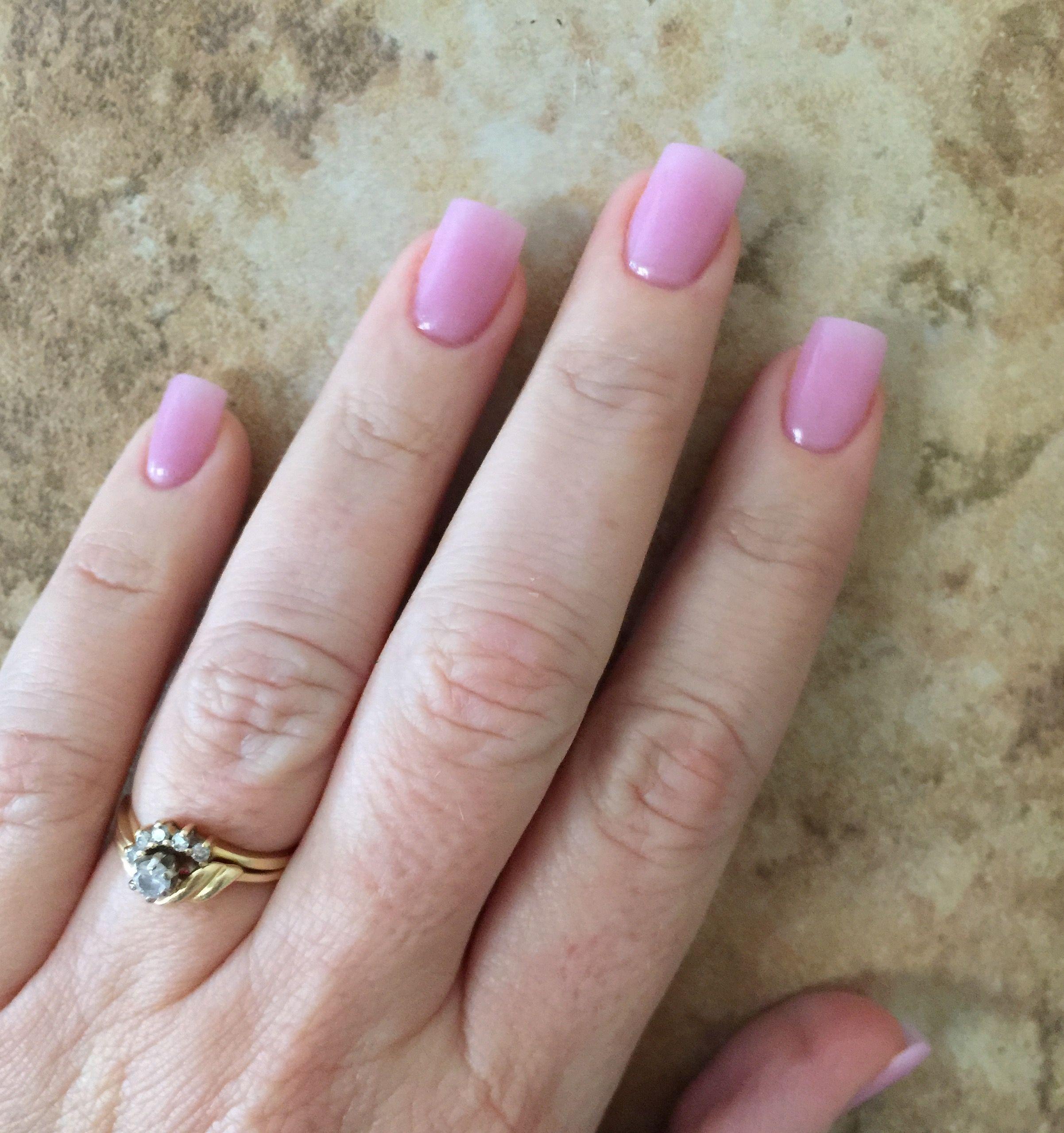 Angela\'s March SNS nails, color 171   Nails   Pinterest