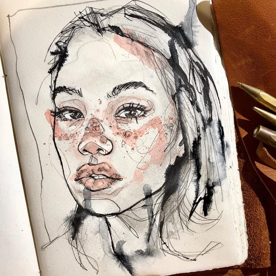 Pinterest Voguesmoothie Instagram Giannasegura Arte Sketchbook