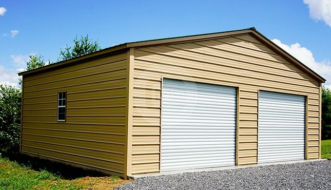 Best 30X25 Vertical Roof Garage Metal Building Homes Metal 400 x 300