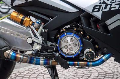 Modifikasi Motor Yamaha Jupiter MX King | modifikasi motor mx king
