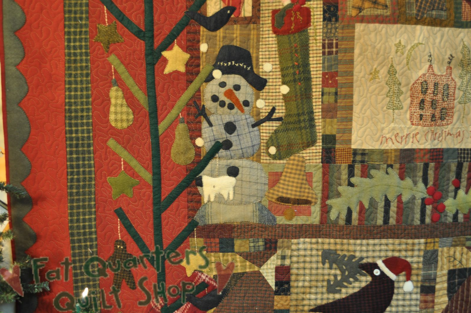 Fat Quarters Quilt Shop For all your quilting & fabric needs : Cheri Payne Pattern - Christmas Quilt -