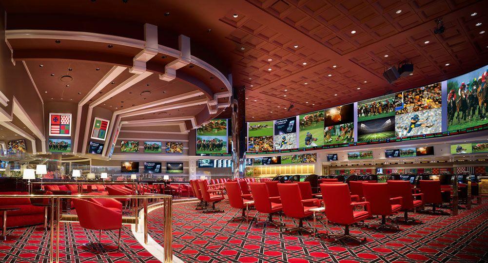 Wynn Race & Sports Book Casino resort, Casino, Wynn las