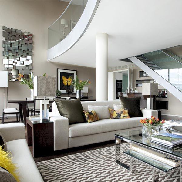 Fotos de dise os de casas modernas espacios interiores - Imagenes de interiores de casas modernas ...