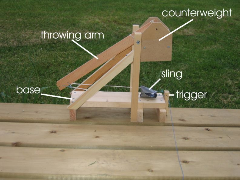 Eight online trebuchet and catapult plans and blueprints | DO IT: Projects, Plans and How-tos