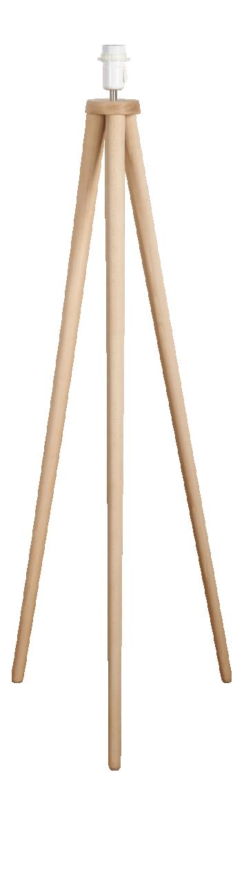TREPIED Stehleuchtenfuß aus Holz