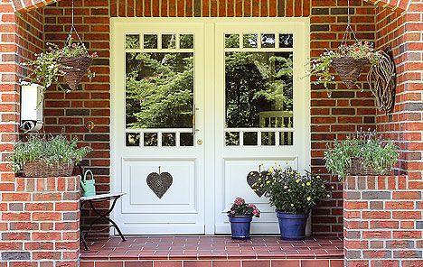 Eingangstüren modern weiß  eingangstüren sprossen modern - Google-Suche | haus | Pinterest ...