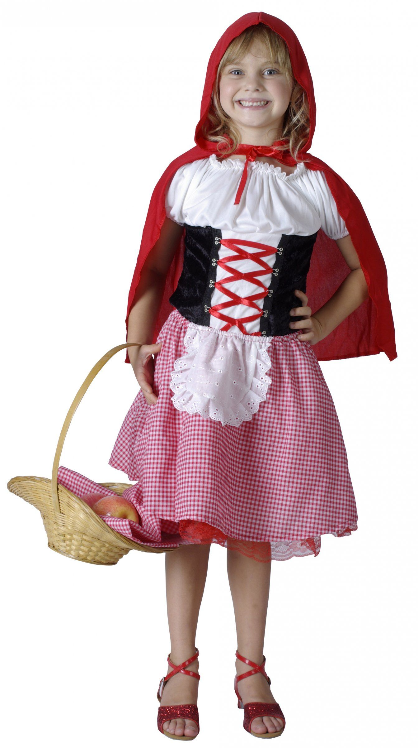 d guisement chaperon rouge fille red riding hood and children costumes. Black Bedroom Furniture Sets. Home Design Ideas