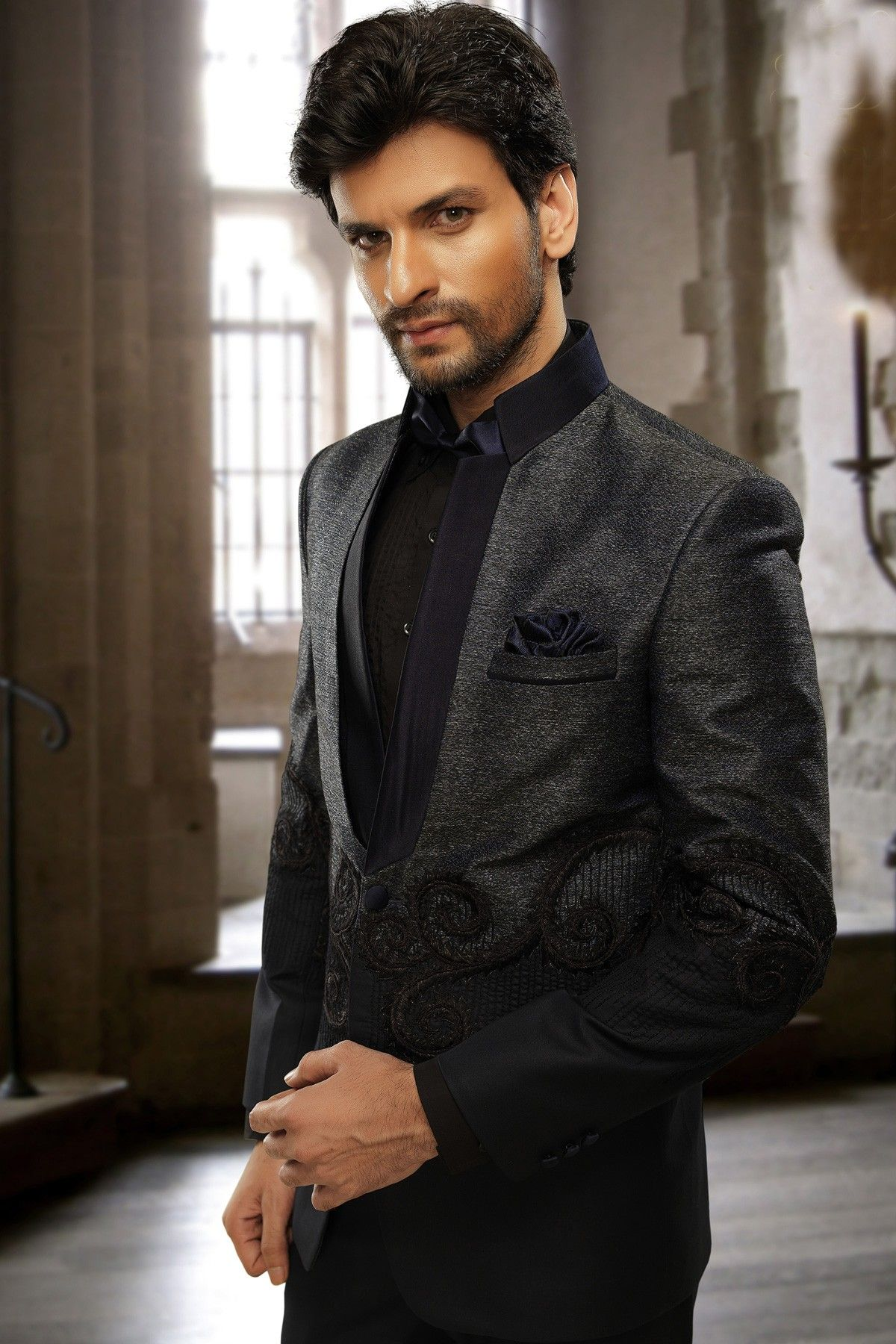 Give a #stylish look with this stunning #Blue imported #exquisite ...